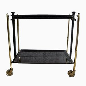 Mid-Century Foldable Bar Trolley from Bremshey & Co.