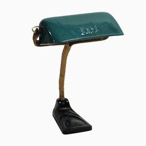 Lámpara de escritorio esmaltada, años 30