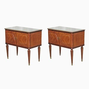 Tables de Chevet Vintage, Set de 2