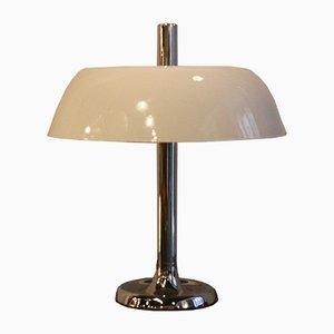 Große Vintage Tischlampe in Pilz-Optik von Hillebrand Lighting