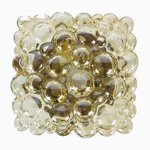 Bubble Glass Ceiling Light by Helena Tynell for Limburg, 1960s