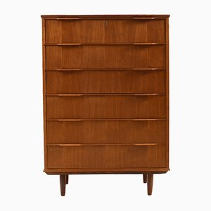Mid-Century Danish Teak Chest of Drawers, 1959