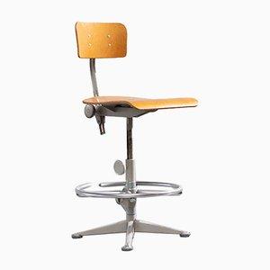 Chaise d'Architecte Industrielle par Friso Kramer pour Ahrend de Cirkel, 1960s