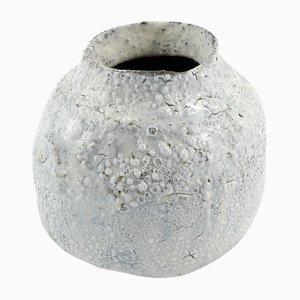 Weiße Vase von ymono, 2018