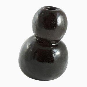 Schwarze Vase von ymono, 2018