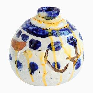 Vase mit Chino-Glasur von ymono, 2018