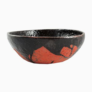 Tenmoku-Splash Bowl by ymono, 2018