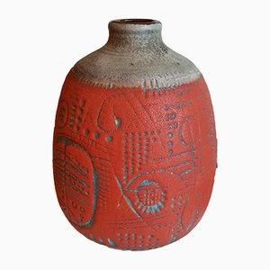 Vintage Ceramic Vase by G. Heuckeroth, 1950s