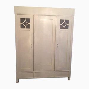 Antique White Wardrobe