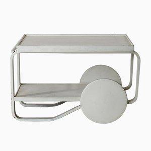 Carrito para el té modelo 901 de Alvar Aalto para Artek, años 30