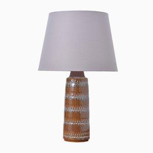 Vintage Tischlampe aus Keramik von Søholm Stentøj