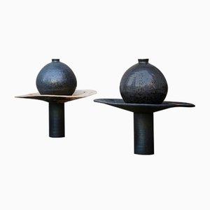 Symbiotic Teller, Vase & Kerzenständer von Milan Kosovic für Sekt
