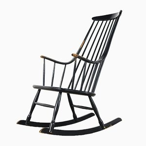 Boheme 2402 Rocking Chair by Lena Larsson for Nesto, 1955