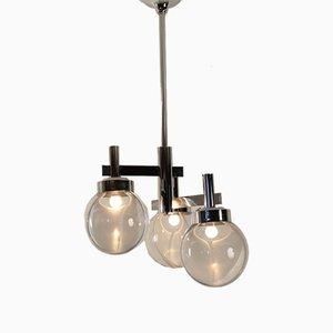 Lampe à Suspension à Membrane par Toni Zuccheri pour Venini, 1970s