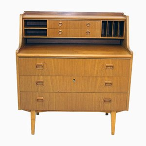 Vintage Swedish Secretaire, 1960s