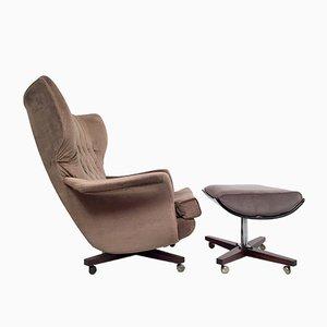 Modell 62 Sessel & Fußhocker von G-Plan, 1960er