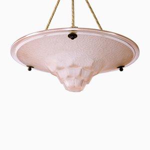 Art Deco Pendant Lamp, 1930s