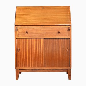 Mid-Century Walnut Bureau from Heal's