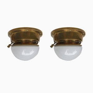 Art Deco Ceiling Lamps from Ehrich & Grätz & Gerhardt Berlin, Set of 2