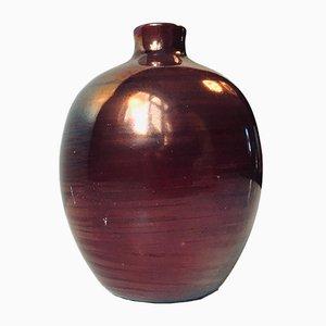 Jarrón Mid-Century de cerámica de Poul Nielsen, años 60