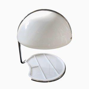 Lámpara de mesa Conch era espacial de Buttura & Masons para Harvey Guzzini, 1968