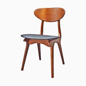 Chaise de Salle à Manger Vintage par Louis van Teeffelen pour WéBé