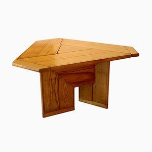 Dreieckiger italienischer Vintage Tisch mit Pflanzer
