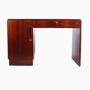 Art Deco Schreibtisch aus Palisander, 1930er