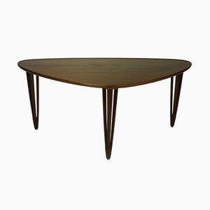 Table Basse Tripode en Teck de BC Møbler, 1950s