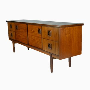 English Teak Sideboard from Bath Cabinet Makers, 1968