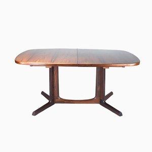 Tavolo da pranzo in palissandro di Niels O. Møller per Gudme Møbelfabrik, anni '60