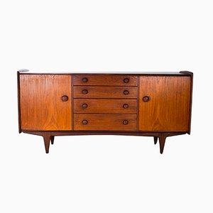 Mid-Century Afrormosia & Teak Sideboard by John Herbert for Younger, 1950s