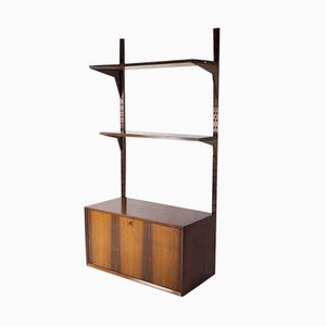 Rosewood Modular Wall Unit by Poul Cadovius for Cado, 1960s