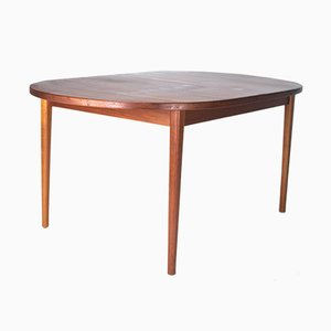 Teak Extendable Ove Dining Table by Nils Jonsson for Troeds, 1960s