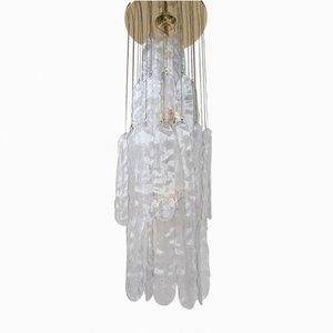 Lampadario vintage moderno in vetro di Murano