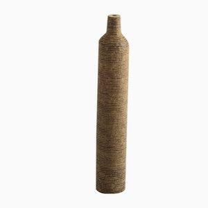 Kleine gerillte Anfora Vase mit Ausguss von Domingos Tótora