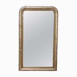 Antique Silver Mirror, 1850s