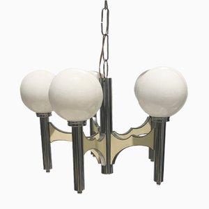 Lámpara de araña de Gaetano Sciolari, años 60