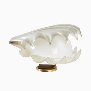 Methacrylate Seashell Lamp, 1970s