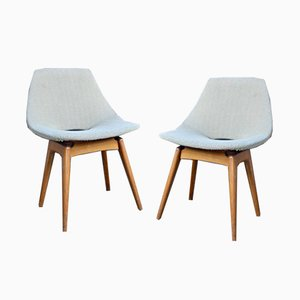 Vintage Amsterdam Chairs by Pierre Guariche for Steiner, Set of 2