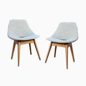 Vintage Amsterdam Stühle von Pierre Guariche für Steiner, 2er Set