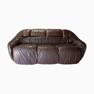 Leather Otaria Sofa by Sergio Crippa, 1970s
