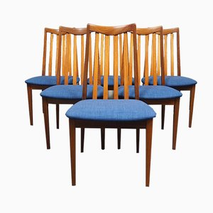 Teak Dining Chairs by Kofod Larsen for G-Plan, 1970s, Set of 6
