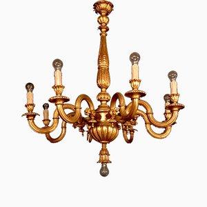 Lámpara de araña Acacia italiana vintage, años 20