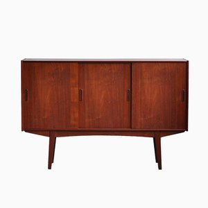 Skandinavisches Highboard aus Teak, 1960er