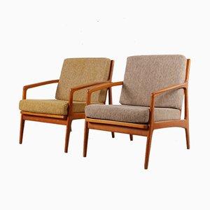 Vintage Lehnstühle, 1950er, 2er Set