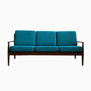 Mid-Century Modern Danish Teak Sofa by Grete Jalk for France & Søn