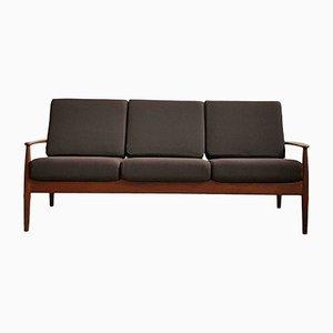 Dänisches Mid-Century Sofa aus Teak von Grete Jalk für France & Søn