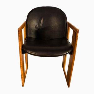 Chaise de Salon Dialogo par Afra et Tobia Scarpa pour B&B Italia, 1974