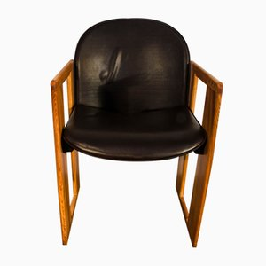Dialogo Dining Chair by Afra and Tobia Scarpa for B&B Italia, 1974